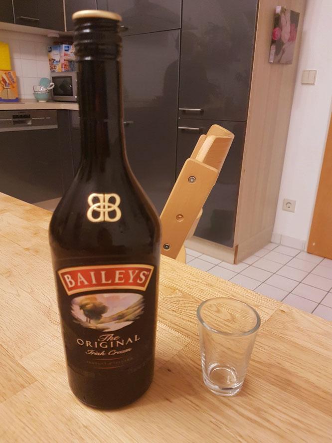 Baileys Cremelikör auf Mama-Blog Patschehand.de zum Beitrag über Alkohol in der Stillzeit