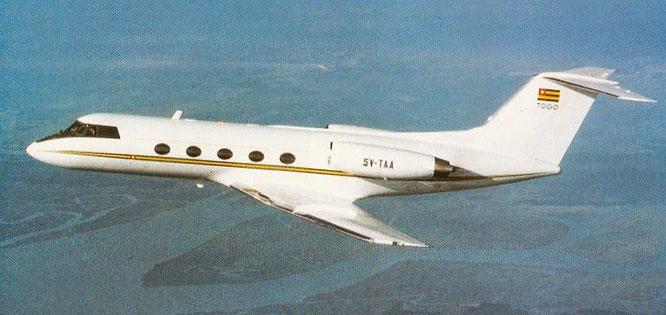 1974 - 5V-TAA (GII, 149) - (C) Grumman Aerospace