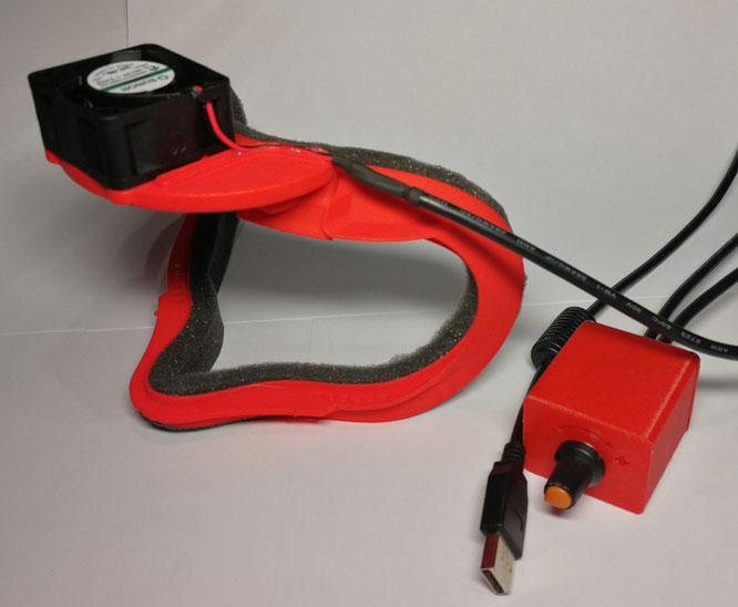 Oculus Rift CV1 Cooling Kit - SimProlouge