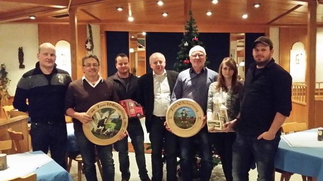 Alle Sachpreisgewinner unserer Weihnachtsfeier