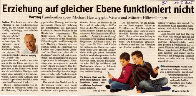 Buchloer Zeitung am 14. März 2015