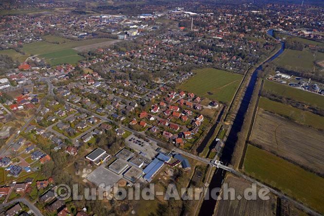 Aurich Haxtum, unten Upstalsboom-Schule & Kindergarten