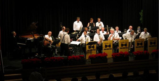 16 Herren und 2 Damen: Salzburg Swing Orchestra (Foto: Jazz Club Life 2017)