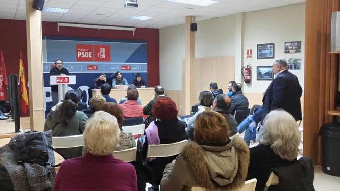 Imagen de la votación (Nuria Calderón)