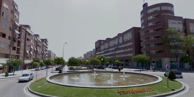 Plaza de los Dávilas en Valdebernardo