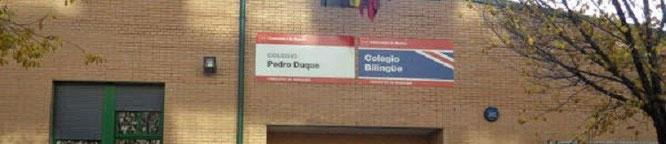 El Colegio Pedro Duque es uno de los tres que existen actualmente en Valderrivas