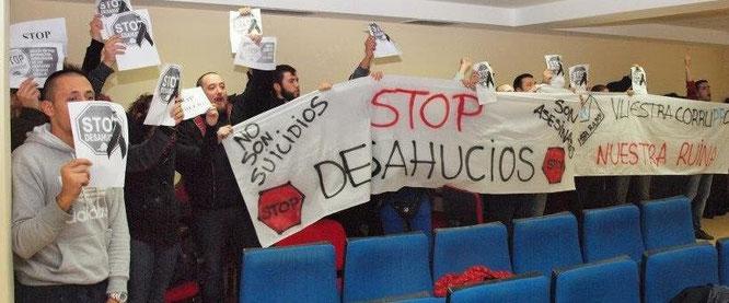 Imagen dela protesta publicada en Twitter por el usuario @albersicambias
