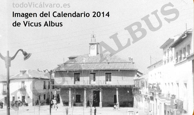 Imagen del edificio del Ayuntamiento de Vicálvaro construido en el siglo XVII