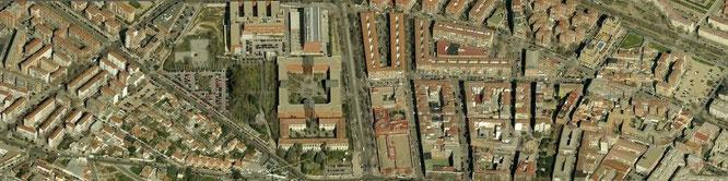 Imagen aérea de Vicálvaro