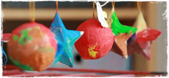 Mit Kindern Geschenke für Weihnachten basteln
