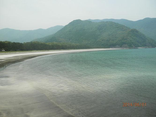 蒲江波当津海岸。