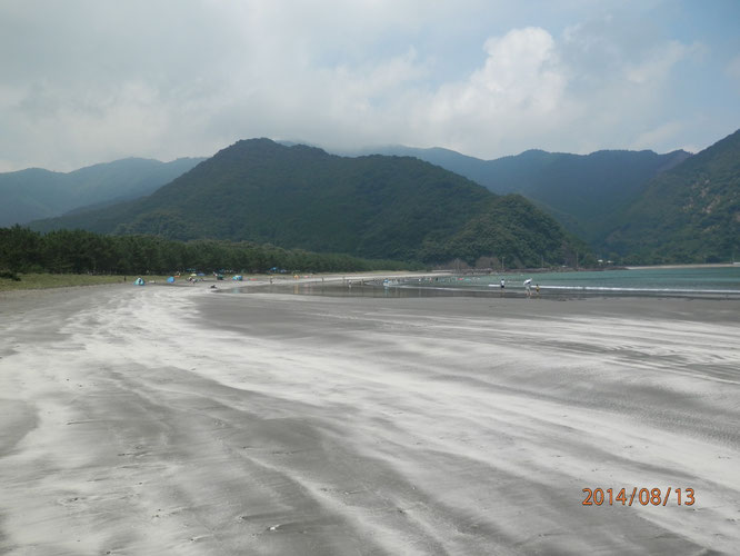 蒲江波当津海水浴場