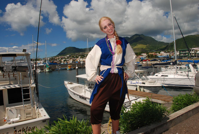 Me dressed up as a Pirate in St Kitts