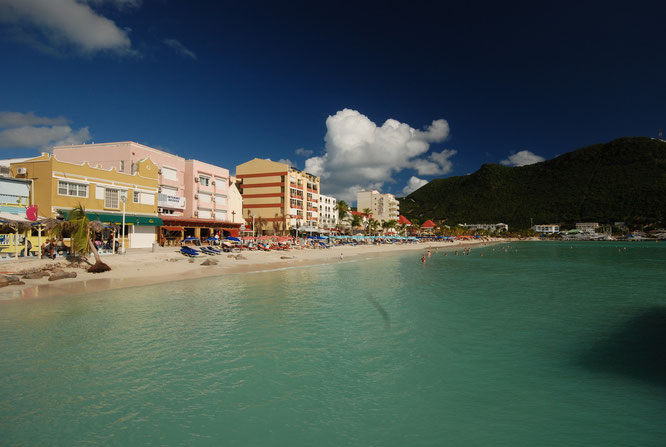 St Maarten, one of Carribean island countries
