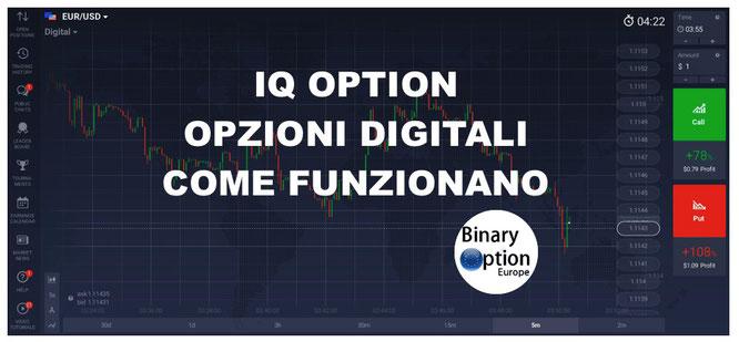 iq option opzioni digitali come funzionano