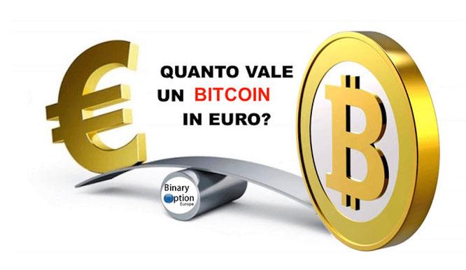 quanto vale un bitcoin in euro in tempo reale oggi cambio btc euro
