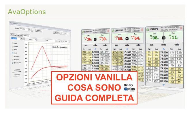 opzioni vanilla cosa sono forex trading