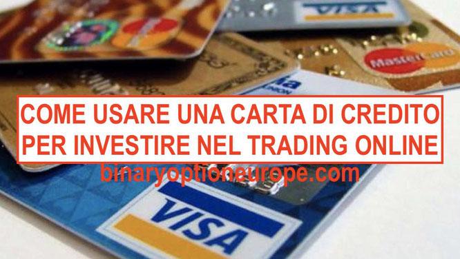 come investire nel forex trading con carta di credito debito prepagata postepay