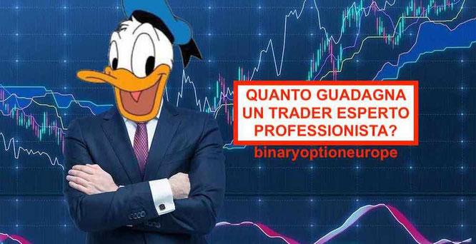 quanto guadagna un trader forex professionista e di trading cfd