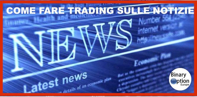 come fare trading sulle notizie opzioni cfd forex