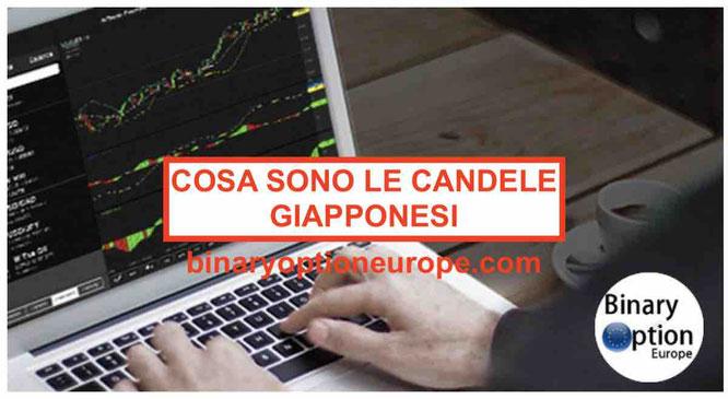 cosa sono le candele giapponesi inrterpretazione borsa trading