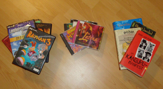 Rayman 3, Landwirtschaftssimulator, Das Känguru-Minifest, Beedle the Bard, Monkey Island