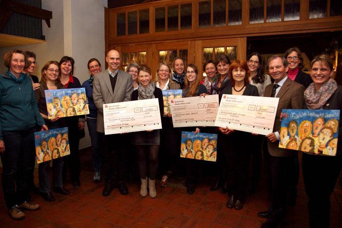 Spendenübergabe 2014
