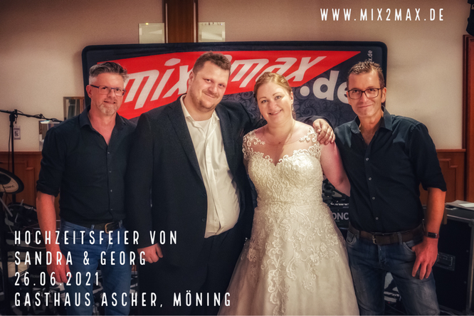 Sandra & Georg, 26.06.2021, Landgasthaus Ascher, Möning