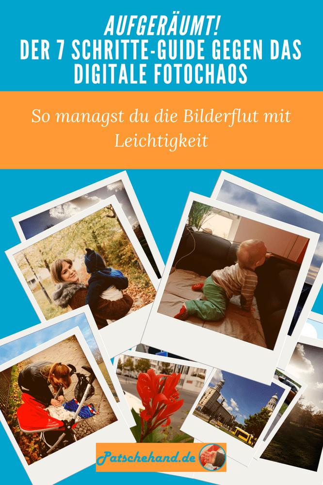 Ordnung im Fotochaos: Tipps zum Aufräumen der Bilderflut auf Mama-Blog Patschehand.de