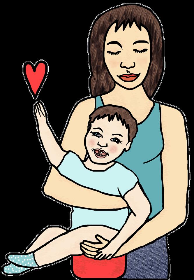 Logo von Windelfreibaby.de für ein Interview auf Mama-Blog Patschehand.de rund ums Abhalten bzw. die Elimination Communication.