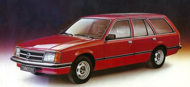 Opel Commodore Voyage