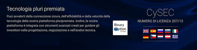 Regolamentazione CYSEC e CONSOB per 24option miglior broker opzioni binarie