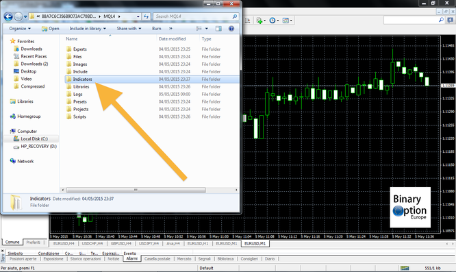 Binary options robot.ex4