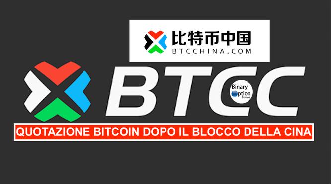 quotazione bitcoin cina