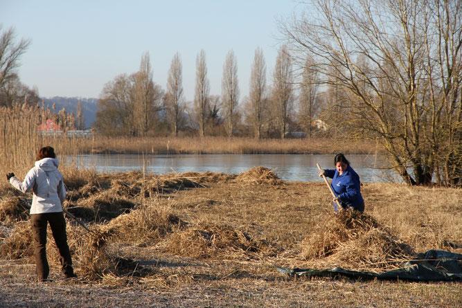 Raus in die Natur und dabei Gutes tun - Foto: NABU/J. Herzer
