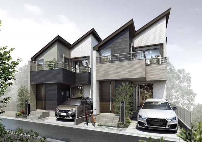 新築分譲住宅   AGRATIO EXE 北浦和 全6棟