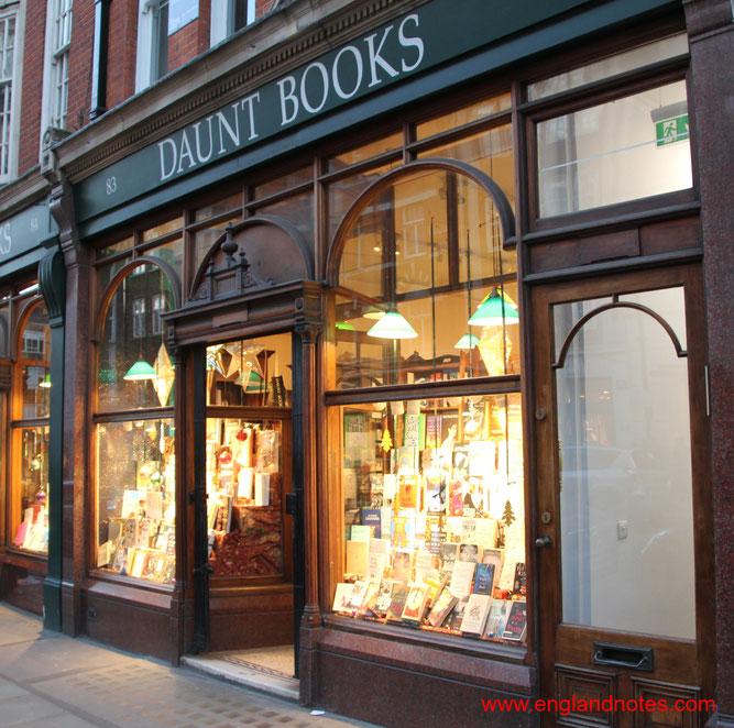 Die besten Buchläden in London: Daunt Books