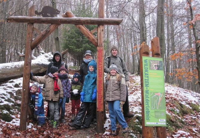 Der Wildkatzen-Lehrpfad in Bad Harzburg