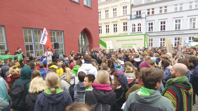 Klimastreik in Greifswald am 20. September 2019