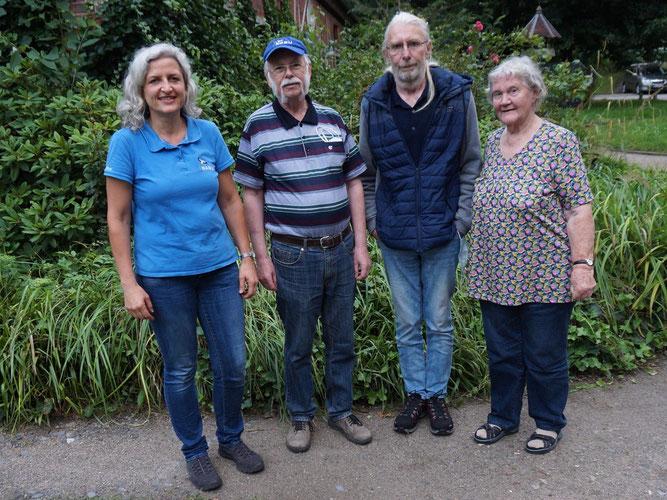 Von links nach rechts: Mirjam Gördes, Ralph Bernatz, Dirk Graszies, Mechthild Gillner; Foto: M. Gördes