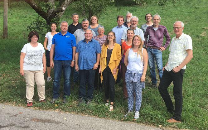 Unsere Teilnehmer/-innen der Basisschulung für Naturschutzmacher/-innen am Abschlusstag - vielen Dank für euer reges Mitmachen!