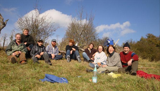 Landschaftspflegeeinsatz 2010 - Kooperation mit NABU Freudenstadt