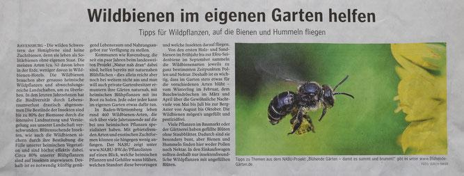 Schwäbische Zeitung 08.Mai 2021