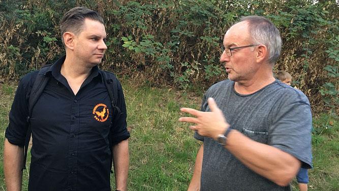 Guido Hoehne (links) und Holger Pieren.