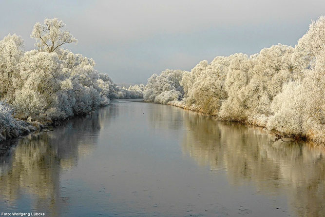 Auch im Winter reizvoll (Foto: Wolfgang Lübcke)