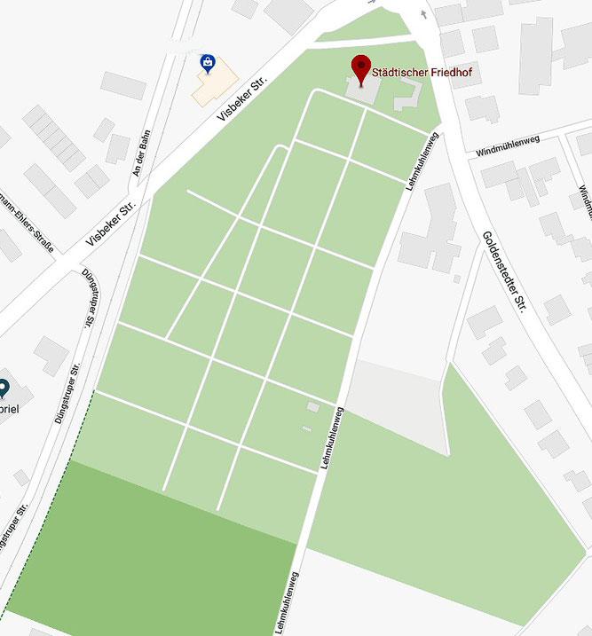 Kartenausschnitt: Google Maps