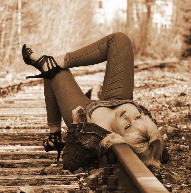 Lea Schäfer Topmodel Fotomodel Blitzlichtkabinett