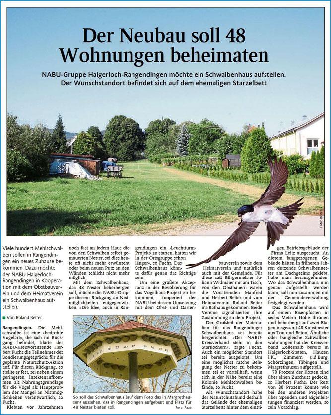 Schwarzwälder Bote 07.08.2020