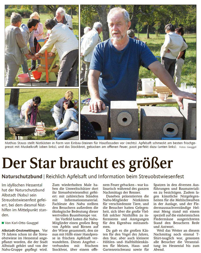 Schwarzwälder Bote Albstadt - 10. Oktober 2018