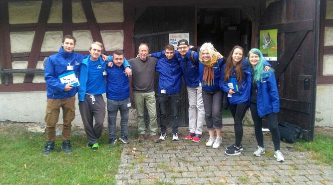 Foto vom Starttreffen mit dem neuen Team am 01.10.2018 in Haigerloch-Stetten (Foto: Wolfgang Fuchs)